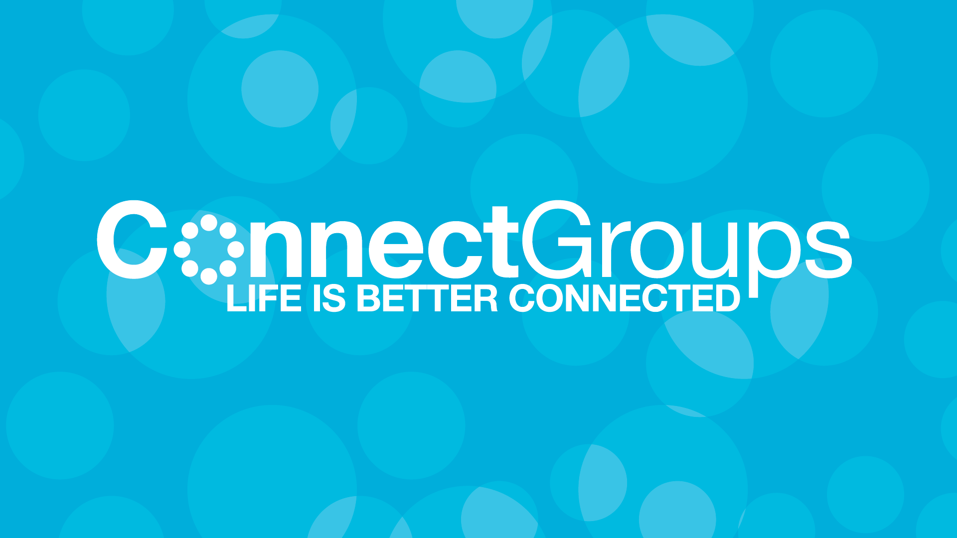 CONNECTGROUPS – SPRING SEMESTER 2016 – LAUNCH