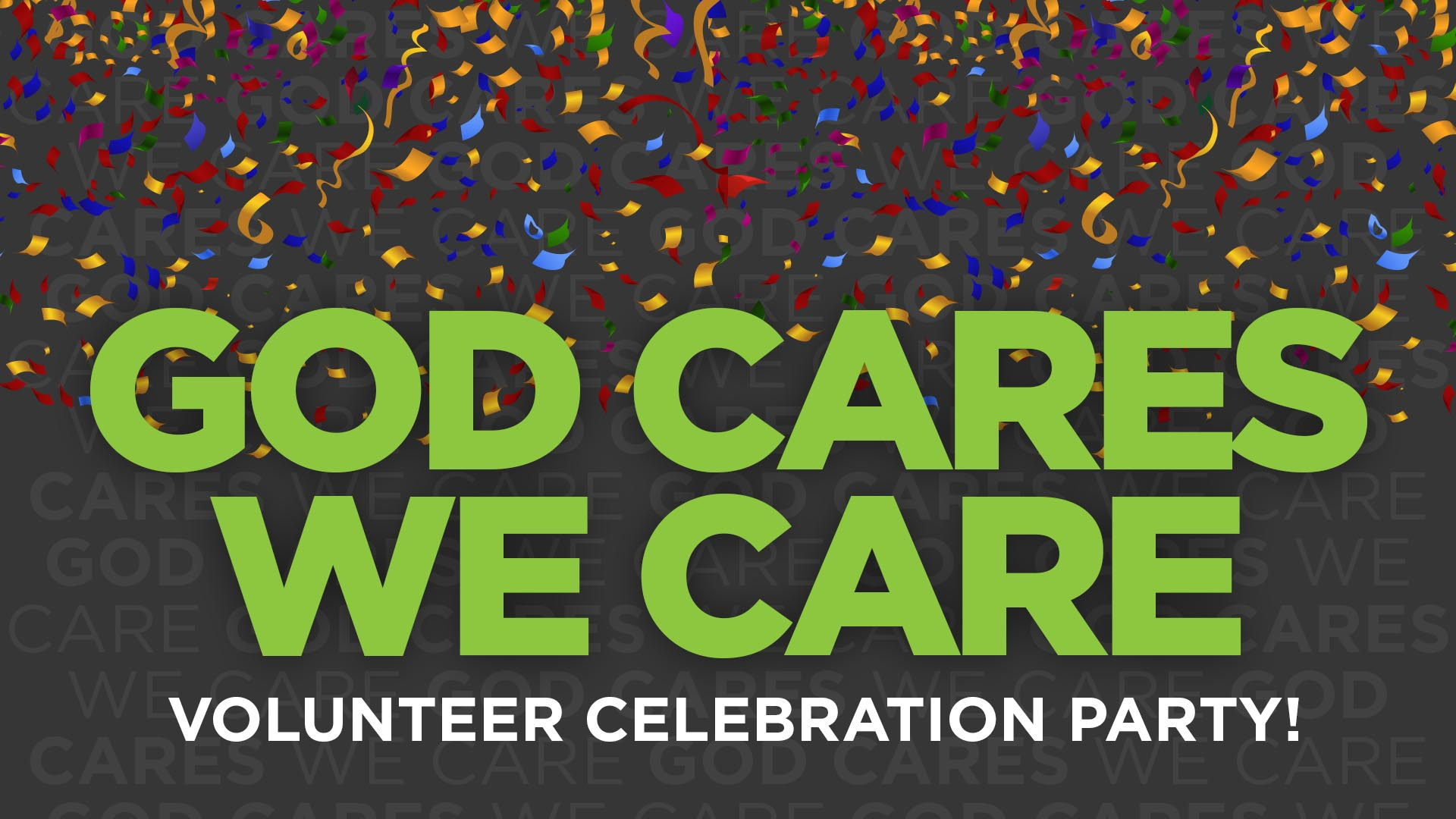 Volunteer Celebration Party 2017